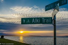 Alki Beach Trail West Seattle by What To Do When It U0027s Sunny In Seattle