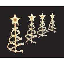 Christmas Ornaments Outdoor Tree by Christmas Path Lights U0026 Yard Stakes Outdoor Christmas