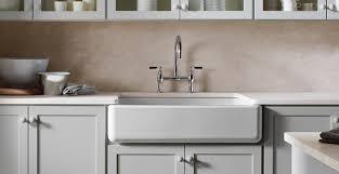 ApronFront Sinks Beyond The Farmhouse Kohler - Kitchen farm sinks