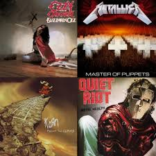 the best selling heavy metal albums of all time in the u s