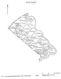 map of bucks county pa towns pa state archives pennsylvania county municipalities map