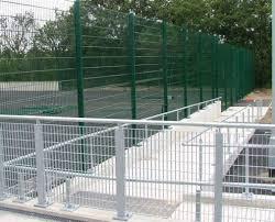Galvanised Handrail Galvanised Pedestrian Fencing With Hand Rail Tonbridge Fencing