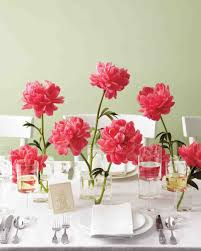 home design mesmerizing unique diy centerpieces peonies