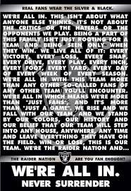 Raider Nation Memes - true story real women wear black and silver pinterest