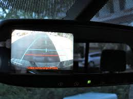 activating toyota tundra rear view backup camera while driving