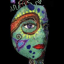 bead masks masks an evolving artful perspective s wish gallery