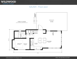 Lakefront Home Floor Plans by The Salish Wildwood Lake Front Cottages