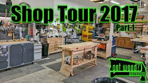 Garage Workshop by Shop Tour 2017 Part 1 3 Car Garage Workshop Youtube