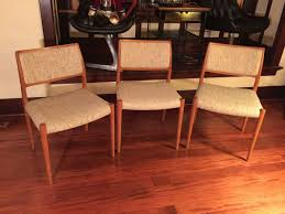 sold danish modern teak moeller dining chairs set of 3 modern sold danish modern teak moeller dining chairs set of 3