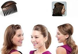 bump it hair 1pc black brown charming pompadour fringe bump it up