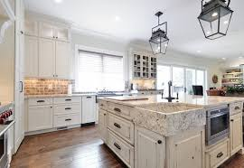 Large Kitchen With Island Square Kitchen Island Widaus Home Design