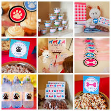 puppy party supplies birthday party supplies puppy birthday party supplies