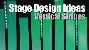 Church Lighting Design Ideas Church Stage Design Ideas Vertical Stripes Coroplast Youtube