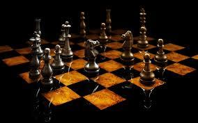 3d glass chess 7007302