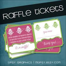7 raffle ticket templates word excel pdf formats