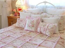 shabby chic quilt pillows vivienneblush flickr