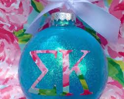 sorority ornament etsy