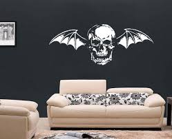 large music rock avenged sevenfold wall art decal mural zoom