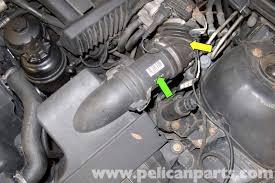 bmw maf sensor bmw e39 5 series mass air flow sensor replacement 1997 2003 525i