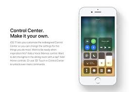 hands on with ios 11 u0027s highly customizable control center
