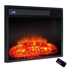 infrared electric fireplace insert life smart quartz stove heater
