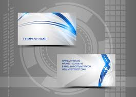 Abstract Business Cards Modern Style Abstract Business Cards Vector Free Vector In Adobe