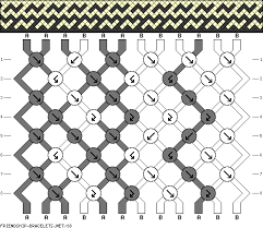free friendship bracelet pattern images Generate friendship gif
