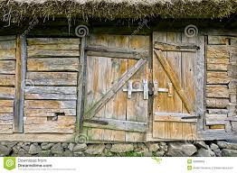Rustic House Abandoned Barn Vintage Wooden Door Photo Of Rustic House Entran