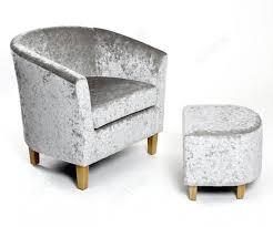 shankar silver crushed velvet tub chair set furnituredirectuk net