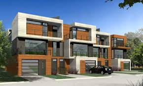 modern duplex house plans narrow duplex house plans new modern