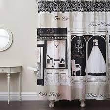 Bath And Beyond Shower Curtains Parisienne Chic Shower Curtain Bed Bath U0026 Beyond