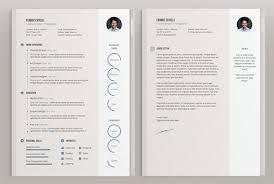 illustrator resume templates 50 beautiful free resume cv templates in ai indesign psd formats