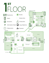 flor plans library floor plans of hawaii manoa library website