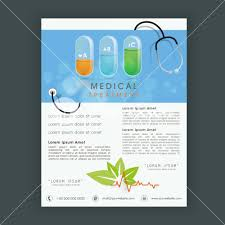 creative medical treatment flyer banner or template design with