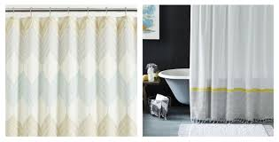 bathroom crate and barrel shower curtain crate and barrel