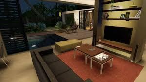 house sims 3 minimalist house hd youtube