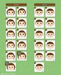 all acnl hairstyles with colours what would your character look like animal crossing new leaf