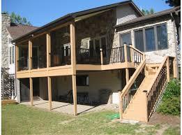 deck railing 6ft x 36in aluminum residential railing hammered black