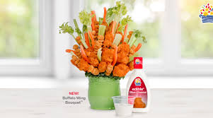 edible arrangents new edible arrangements buffalo wing bouquet edible news