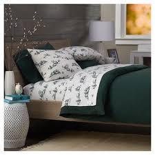 pinzon lightweight cotton flannel sheet set king