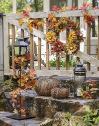 outdoor fall decorations pinterest