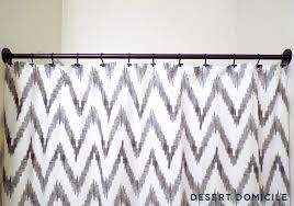 Copper Pipe Shower Curtain Rod Diy Pipe Shower Curtain Rod Desert Domicile