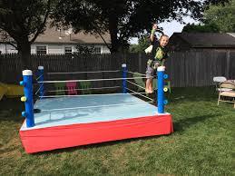 backyard wrestling ring for sale cheap backyard wrestling ring wrestling party pinterest backyard