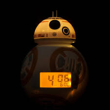 amazon com bulbbotz star wars bb 8 kids light up alarm clock