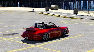 porsche targa 80s porsche 911 964 targa u0026 cabrio add on replace gta5 mods com