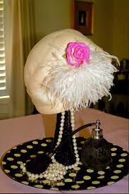 bridal luncheon decorations theme bridal shower table decorations vintage hat with