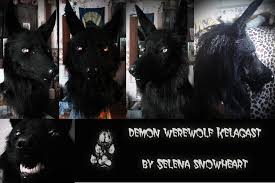 Werewolf Mask Demon Werewolf Mask By Snowvolkolak On Deviantart