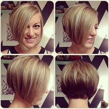 chic short asymmetrical bob haircut for young ladies hairstyles