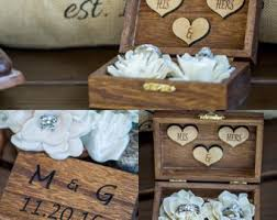 shabby chic animal ring holder images Wedding ring box wedding ring holder ring bearer box jpg