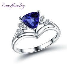 natural tanzanite rings images Trillion tanzanite diamond rings wedding promise diamond jpg